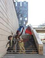Zag & Sia - La Liberté guidant le peuple, inspiré de Delacroix