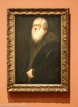 Musée du Luxembourg - Tintoret, naissance d'un génie - L'homme à la barbe blanche - vers 1545