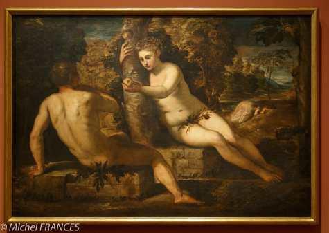 Musée du Luxembourg - Tintoret, naissance d'un génie - Le péché originel