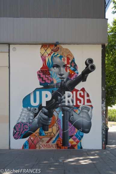 Street-art au Lavomatik