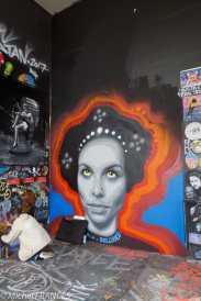 Street art au Lavomatik