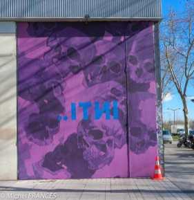 Une pub pour l'exposition INTI toute proche à la galerie Itinerrance ?