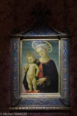 Musée Jacquemart-André - Sandro Botticelli - La Vierge à l'Enfant - vers 1470