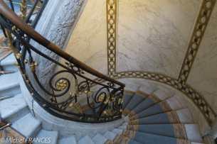 Musée Jacquemart-André - L'escalier monumental