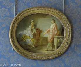 Musée Jaccquemart-André -Jean-Honoré Fragonard - Les débuts du modèle - vers 1770