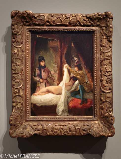 exposition Eugène Delacroix - Louis d'Orléans montrant sa maîtresse - 1825