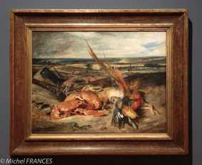 exposition Eugène Delacroix - Nature morte au homard