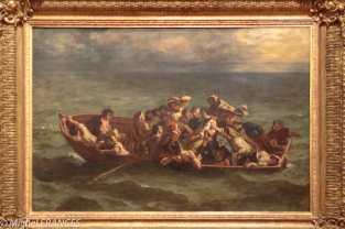 exposition Eugène Delacroix - Le naufrage de Don Juan - 1840, salon de 1840