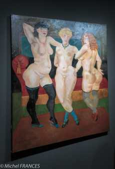 Musée Maillol - Exposition Foujita - Trois femmes - 1930