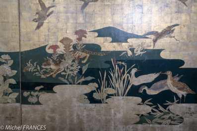 Musée Maillol - Exposition Foujita - détail du décor pour la Maison du Japon