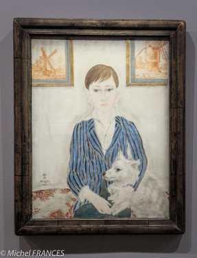 Musée Maillol - Exposition Foujita - Portrait d'un garçon - 1923
