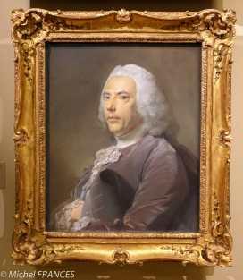 expo Pastels - Jean-Baptiste Perronneau - Pierre Bouguer (1698-1758) - peint en 1753 année où l'hydrographe, mathénaticien et physicien a publié son Nouveau traité de navigation