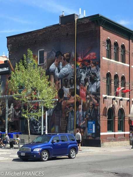 Quelques fresques murales
