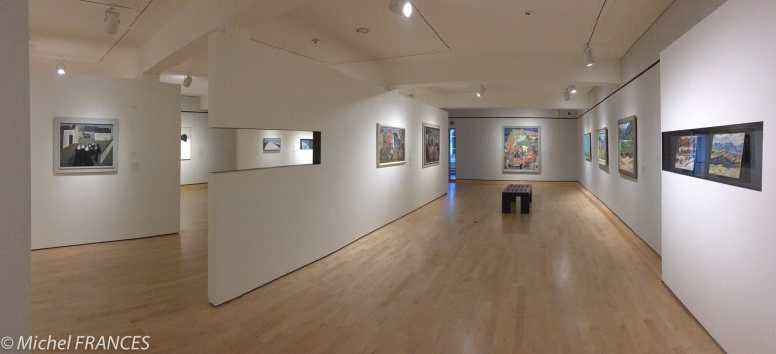 MNBAQ - la salle consacrée à Jean-Paul Lemieux