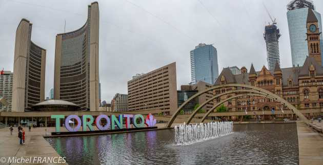 Toronto - Old et New City Halls