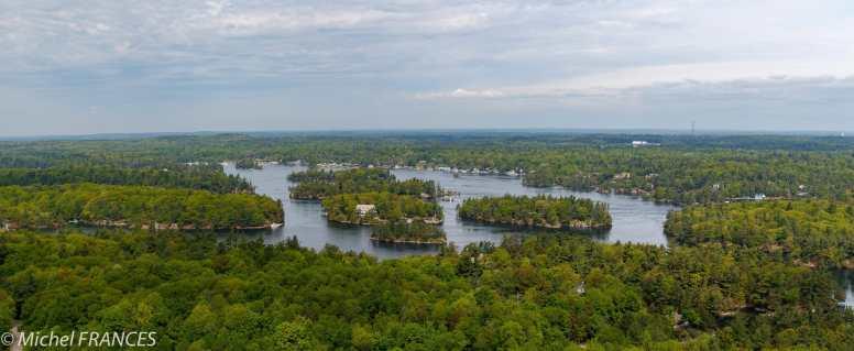 Mille îles entre Ontario et USA