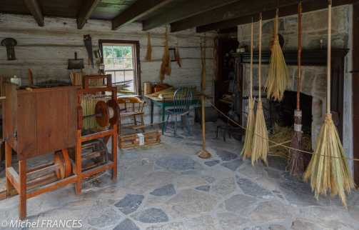 Upper Canada Village - l'atelier de fabrication de balais
