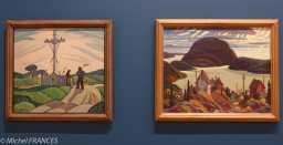 musée des beaux-arts d'Ottawa - Sarah Robertson - Joseph et Marie-Louise - Rossport, lac Supérieur