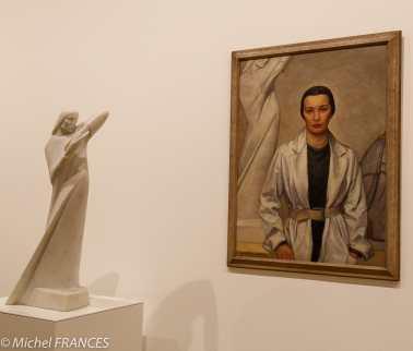musée des beaux-arts d'Ottawa - Elizabeth Wyn Wood - Mouvement