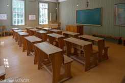 Val-Jalbert - la classe du couvent-école