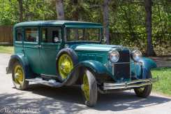 Val-Jalbert - la voiture du maire seule autorisée à circuler dans le village !