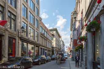 Montréal - La rue St-Paul
