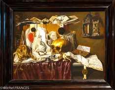 musée des beaux-arts de Montréal - N.L. Peschier - Vanité - 1660