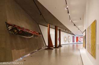 musée des beaux-arts de Montréal - passage souterrain vers la pavillon Claire et Marc Bougie, consacré à l'art québécois et canadien