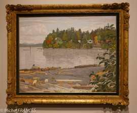 musée des beaux-arts de Montréal - Edward John Hughes - Osborne Bay - 1978