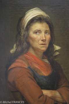musée des beaux-arts de Lyon - France Inconnu - Portrait de femme dit La maraîchère