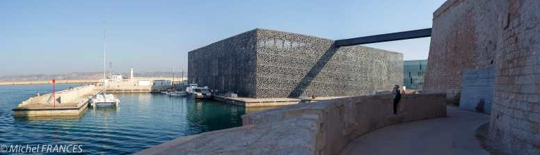 Marseille - Le nouveau bâtiment du MUCEM