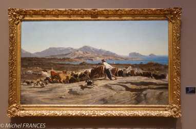 Musée des Beaux-Arts - Vue de Marseille un jour de marché
