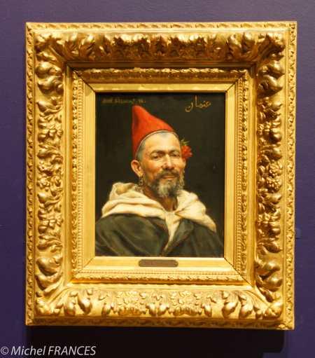 Musée des Beaux-Arts - José Silbert - Portrait d'un Marocain - 1892