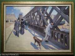 Gustave caillebotte - Le pont de l'Europe - 1876