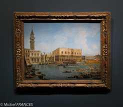 expo Éblouissante Venise - Michele Marieschi - Le retour du Bucentaure à San Marco - vers 1736-1737