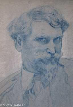 Musée du Luxembourg - Expo Mucha _ Autoportrait - 1907