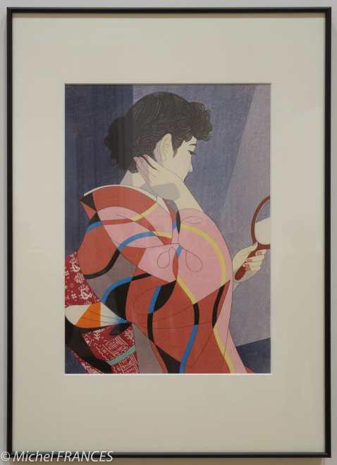 Ito Shinsui - Miroir à main - 1954