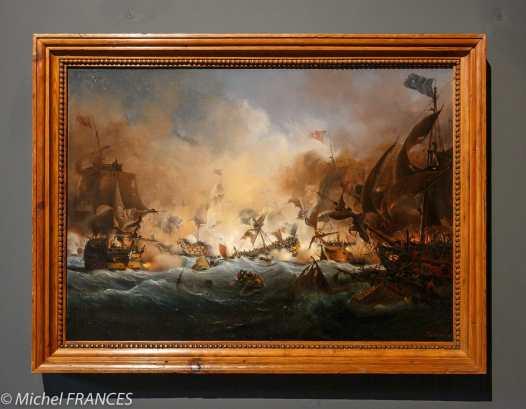 Musée beaux-arts de Brest - Louis-Ambroise Garneray - La troisième bataille d'Ouessant, mai-juin 1794 - 1838