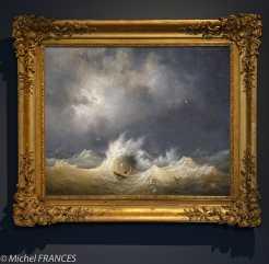 Musée beaux-arts de Brest - Louis-Ambroise Garneray - Le naufragé
