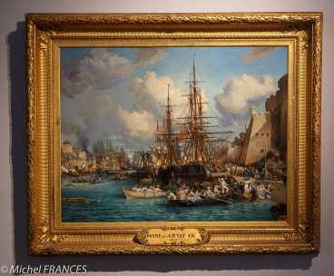 Musée beaux-arts de Brest - Jules Noël - Le port de Brest - 1864
