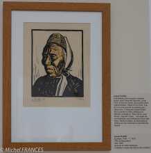 Musée beaux-arts de Brest - Lionel Floch - Tête de Bigoudène - vers 1930
