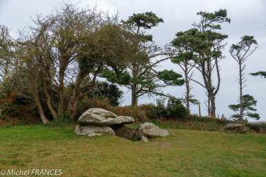 Le dolmen de St-Gonvel à Argenton