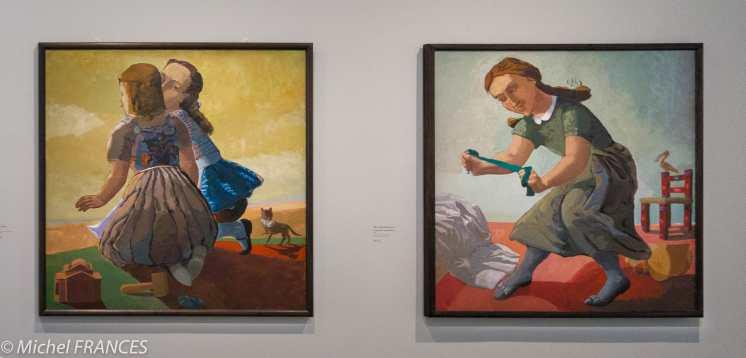 Orangerie - expo Paula Rego - Les petits meurtriers