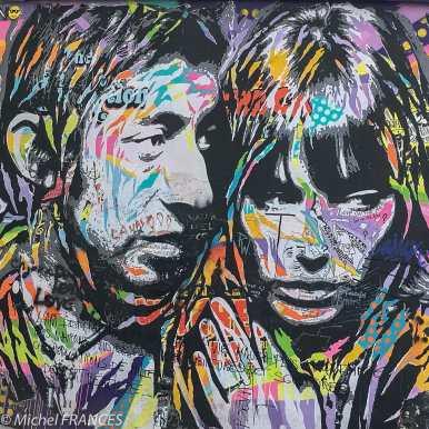 Serge et jane, rue de Breteuil