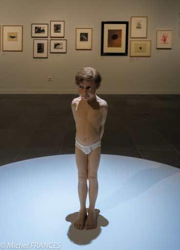 Orangerie - expo Paula Rego - Ron Mueck - Pinocchio