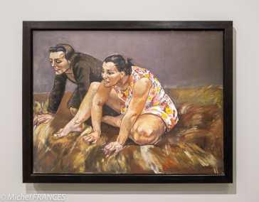 Orangerie - expo Paula Rego - Charognards - 1994 - pastel sur toile