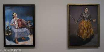 Orangerie - expo Paula Rego - La fête (à Estoril) - 2003 - Ange, le crime du père Amaro - 1998