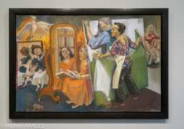 Orangerie - expo Paula Rego - Painting him out - 2011