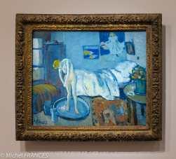 musée d'Orsay, exposition Picasso rose et bleu - La chambre bleue - 1901