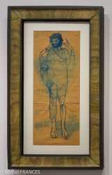 musée d'Orsay, exposition Picasso rose et bleu - Le fou 1903-1904